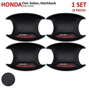 For Honda Civic Sedan Hatchback 2016 20 Matte Bowl Insert Handle Hand Cover