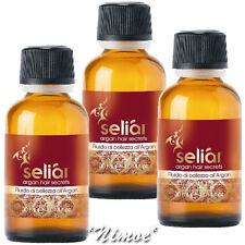 Fluido di Bellezza 3 x 30ml all'Argan Seliar ® Argan Hair Secret Semi Lino Seta