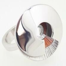 DANIEL VIOR 925 Silver LATIAXIIS Enamel Swirl Ring - Size N - RRP £235
