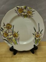 "Royal Albert Bone China 8"" Salad Plate Flower of the Month Daffodil"