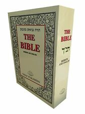 Jewish Holy Bible Book Tanakh Hebrew-English  Torah+Nevi'im+Ketuvim Tanach