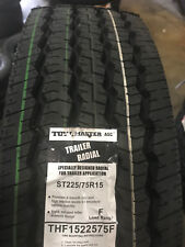 4 NEW ST225/75R15 Tow-Master All Steel Trailer Tire 225 75 15 2257515 12 ply LRF