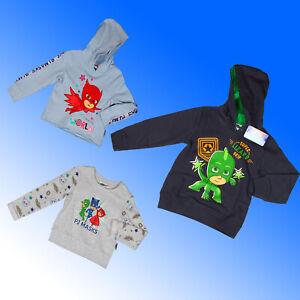 PJ Masks Hoodie & Sweatshirt Top Gekko Catboy Owlette Top Age  3 4 5 6 7 8 Years