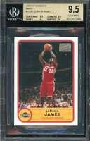 LeBron James Rookie Card 2003-04 Bazooka Mini #2238 BGS 9.5 (9.5 9.5 9 10)