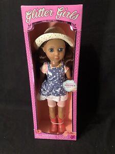 """Glitter Girls HALLIE 14"""" Doll New"""