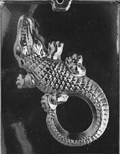 A067 Large Alligator Chocolate Candy Soap Mold with Instructions