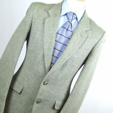 Burton Mens Grey Suit Jacket 38 Long Wool Textured