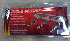 Grill Mate 001018 STAINLESS STEEL TRIPLE VALVE BURNER BRÛLEUR TRIPLE VALVE UNIV