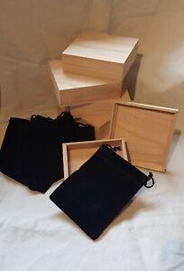JAPANESE TSUBA STORAGE BOX x 6
