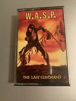W.A.S.P. - The Last Command Capitol CASSETTE TAPE VG++ METAL XDR