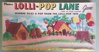 SUPER RARE!! Vintage 1969 Lolli-Pop Lane Hasbro Board Game - Candy Land ripoff!