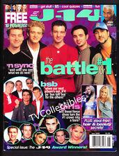 Magazine J-14 ~June 2000 ~N'Sync ~Backstreet Boys ~Britney Spears ~98 Degrees
