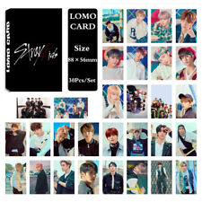 1Set KPOP Stray Kids Album Photo Card Lomo Card Poster Photocard Fans Gift
