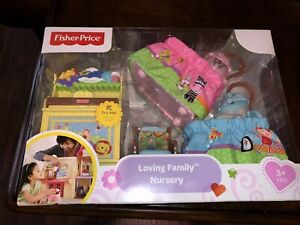 Fisher-Price Loving Family Dollhouse Nursery  ~BRAND NEW~ Tested