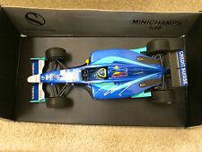 F1 FELIPE MASSA AUTOGRAPHED 2002 SAUBER PETRONAS  SHOW CAR MINICHAMPS #8