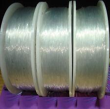 1 Carrete Hilo Elástico de Silicona 0,8mm x 100 Metros Bisuteria Rubber Elastic