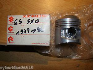 SUZUKI GS 550 - 1977 / 1982 - PISTON D ORIGINE NU - 12111-47001