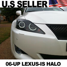 06-Up Lexus is250 is350 ISF LED Halo Ring Angel Eye JDM style 6000k Xenon White
