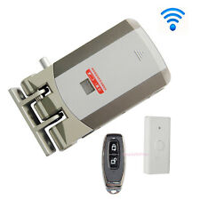 Wireless Door Lock Security Electric Home Anti-theft Lock+Remote Control Opening