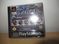 PS1  Sony Playstation 1 ps1  5 Star Racing german pal version new sealed