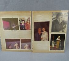 Country Music 1973 Musicians Estate Lot of 17 Vintage Photographs Photos Don Ho