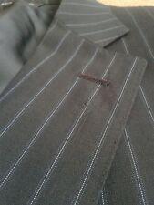 Men's CANALI pinstripe Suit Jacket UK 46 EU 56. Single vent.