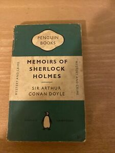 The Memoirs of Sherlock Holmes - DOYLE - Vintage Orange Penguin Classic