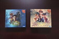 Sega Dreamcast Shenmue I II 1 2 limited Edition Japan import DC games US Seller