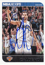 JOSE CALDERON DALLAS MAVERICKS SIGNED CARD KNICKS RAPTORS PISTONS CAVALIERS