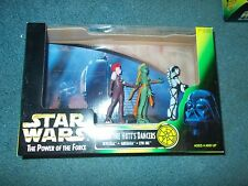 Star Wars Jabba the Hutt's Dancers THE POWER OF THE FORCE KENNER 1998