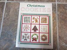 Vintage 1987 2nd Print Christmas Cookies Cookbook, Oxmoor House