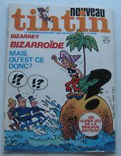 JOURNAL TINTIN N°174 BIZARROIDE/LUCKY LUKE/JEU de la BRIGADE 1976 BON ETAT