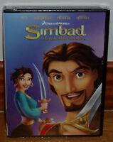 SIMBAD LA LEYENDA DE LOS SIETE MARES DVD NUEVO ANIMACION (SIN ABRIR) R2