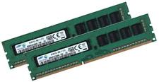 2x 8GB 16GB DDR3 ECC UDIMM RAM PC3-12800E für HP Workstation Proliant WS460c G8