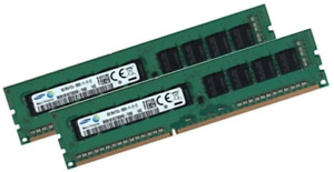 2x 8GB 16GB DDR3 ECC UDIMM RAM PC3-12800E für HP ProLiant HP Proliant ML10 (v2)
