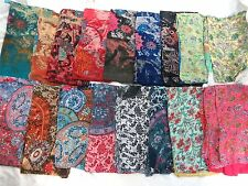 US seller-10pcs vintage boho flower wholesale lot large scarf skirt dress pareo