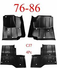 76 86 Jeep CJ7 4pc Floor Pan Set 0480-225, 0480-226, 0480-227, 0480-228