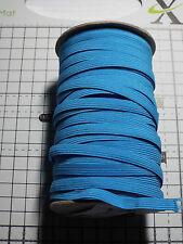 3m -Blue, Flat, Elastic ,  Width - 7mm