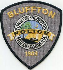 BLUFFTON SOUTH CAROLINA SC POLICE PATCH