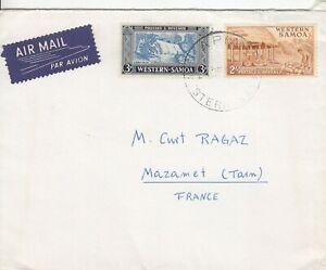S2368 Western Samoa 3 covers UK France Australia, 1947- 1952?