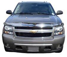 AVS for 07-13 Chevy Avalanche High Profile Hood Shield - Chrome - avs680303