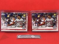 (2) 2019 Topps Juan Soto All Star Rookie Cup Baseball Card #213 LOT OF 2