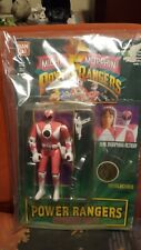 Kimberly PINK original Power Rangers Bandai 1994 NEW Auto Morphin WITH Tattoo