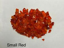 Red Chunky Fire Glass, Small, Gas Fire Pits, Gas Fireplace, Landscape
