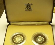 Extremely Rare Dominician Republic 2 Piece 1983 Proof Set~100 Minted~Free Ship