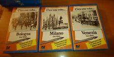 C'era una VOLTA Milano Torino Venezia 1900 3VHS 1 NUOVO SIGILLATO DELTAVIDEO '90