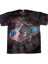 The Mountain Russo Pitbull Dog T-Shirt New Size Small