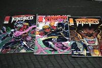 AGENT UNKNOWN 1 2 3 Dell Barras Robert Sodero Renegade Comics 1987 Uncirculated