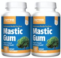 Jarrow Formulas Mastic Gum, Supports the Stomach & Duodenal Health, 60ct, 2 Pack
