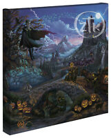 Zac Kinkade Transylvania 14 x 14 Gallery Wrapped Canvas